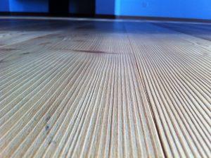 Baureinigung Holzboden