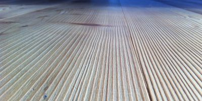 Construction cleaning wood floor