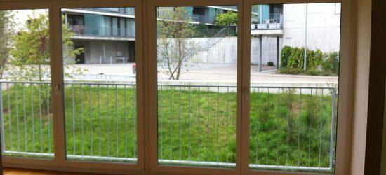 Fensterreinigung Neubau