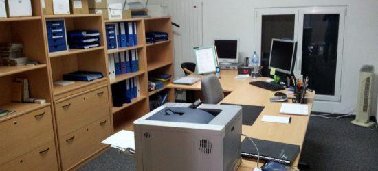 Geschäftsreinigung Büro