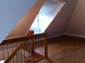 Wohnungsreinigung Dachgeschoss
